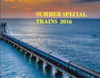List of Summer Special Trains 2016