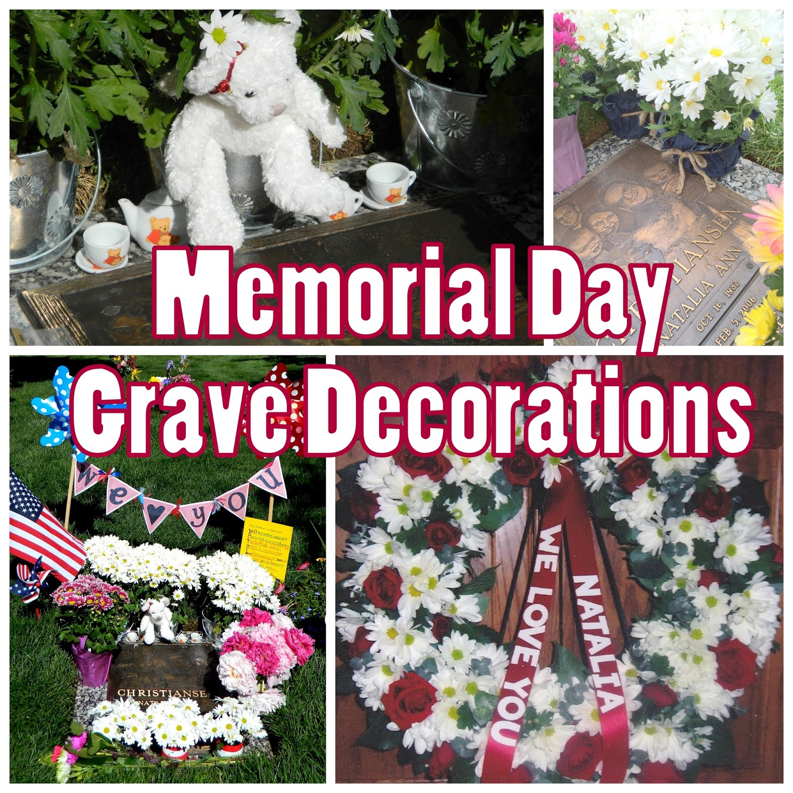 Createjoy2day memorial day personalizing the decorations for Decoration day