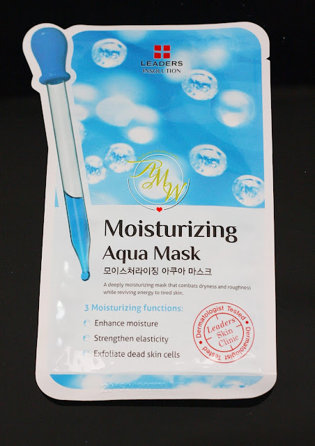 a photo of leaders insolution Moisturizing Aqua Mask