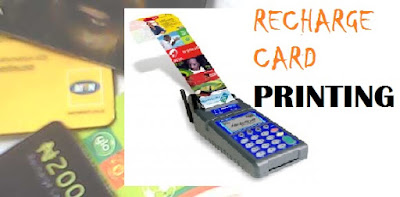 Start Recharge Card Printing