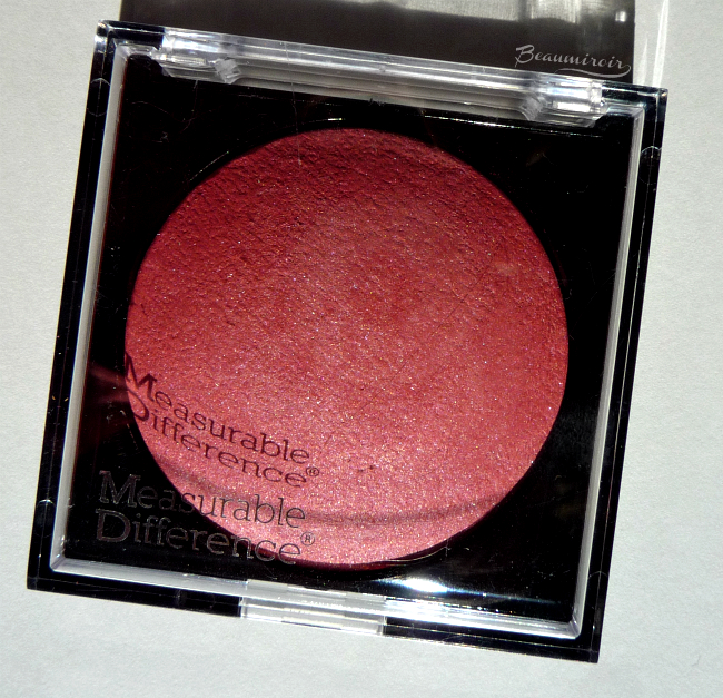 Review, photos and swatches of Chrislie Measurable Difference Baked Face Blush in Rose.