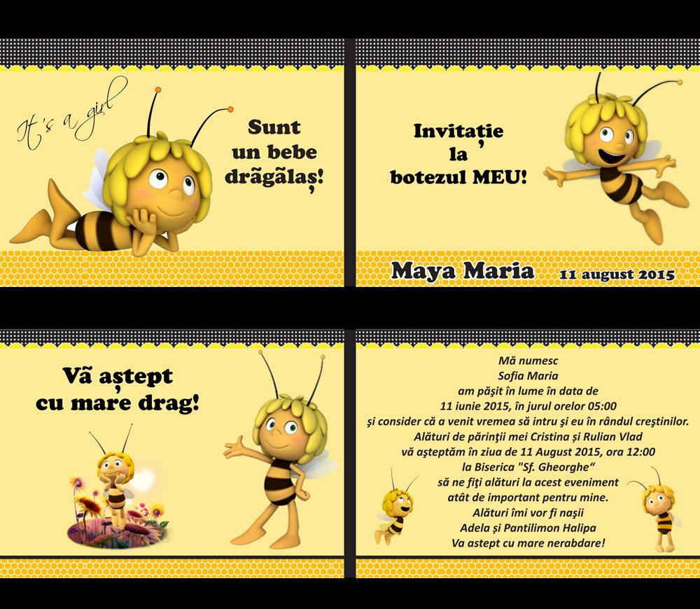 Bebestudio11com Invitatii Nunta Si Botez Modele Asortate Botez