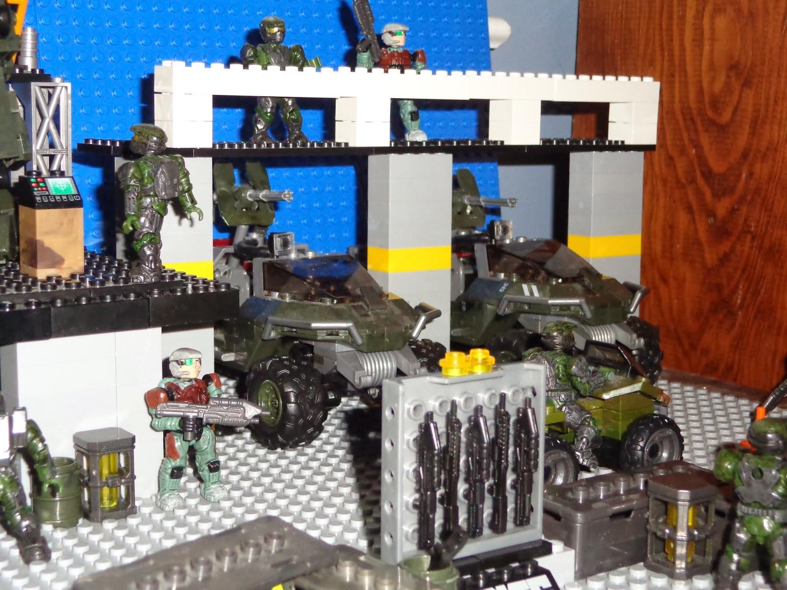 Halo Mega Bloks Flood Invasion Target - Best Flood 2018