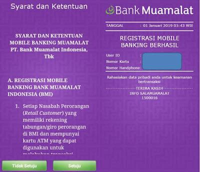 Cara Daftar Mobile Banking Muamalat Lewat Hp Mari Ngenet