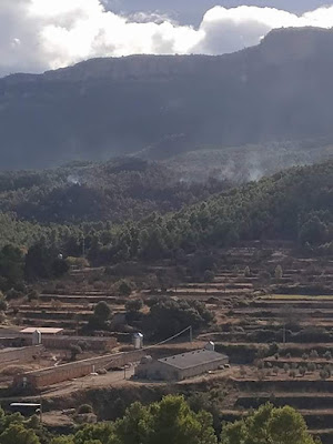 Incendio, Valderrobres, Mas de Buñol, La Caixa