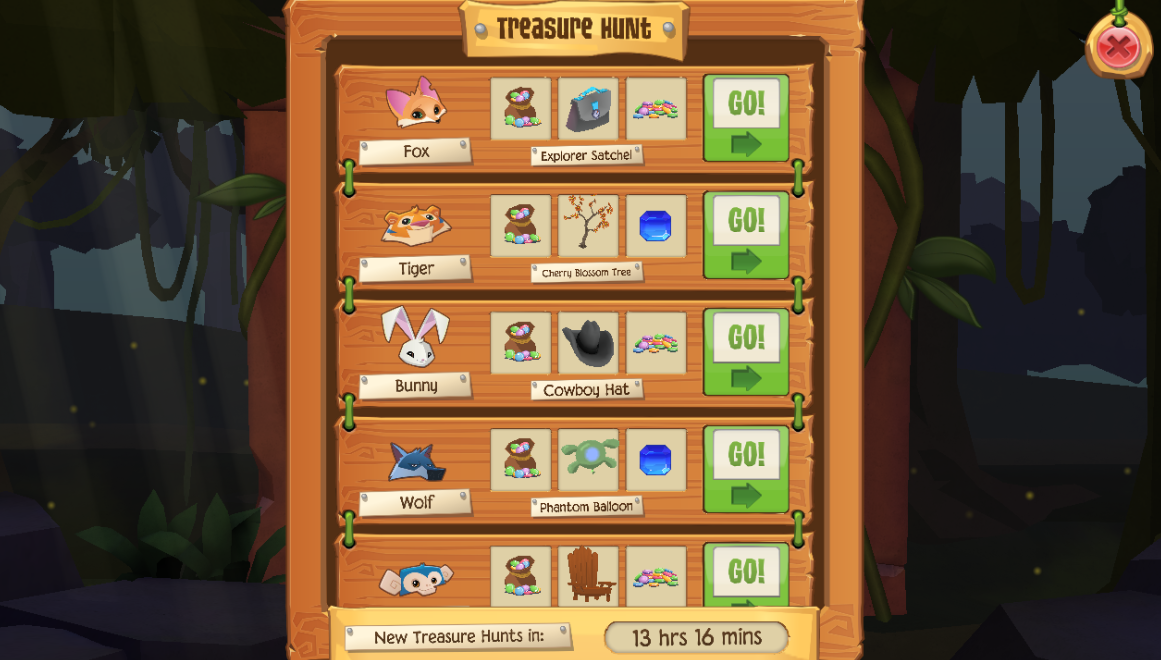 Animal Jam Spirit Blog: Egyptian Puzzle Box + Play Wild Treasure