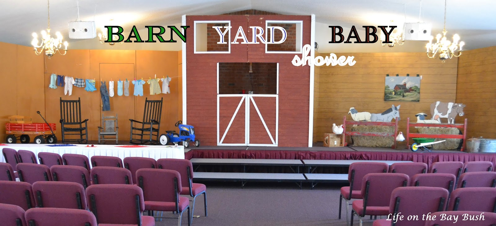 Sister's Barn Yard Baby Shower