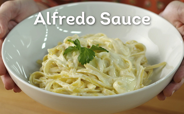 how to make alfredo sauce with cream and butter