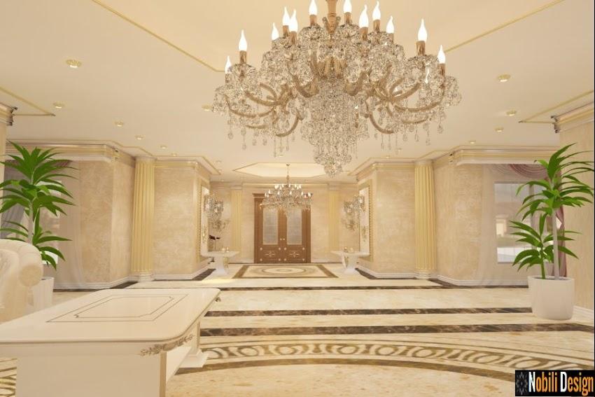 Design interior living casa clasica in Constanta