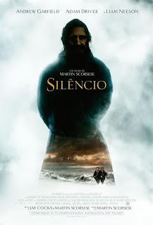 "Poster do filme ""Silêncio"""