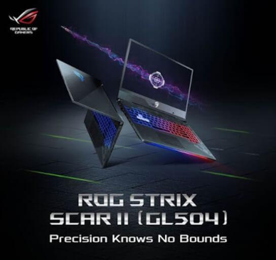 ASUS ROG STRIX SCAR II GL504GV