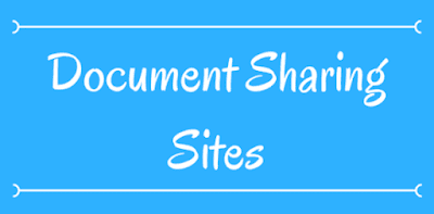 document sharing sites 2019