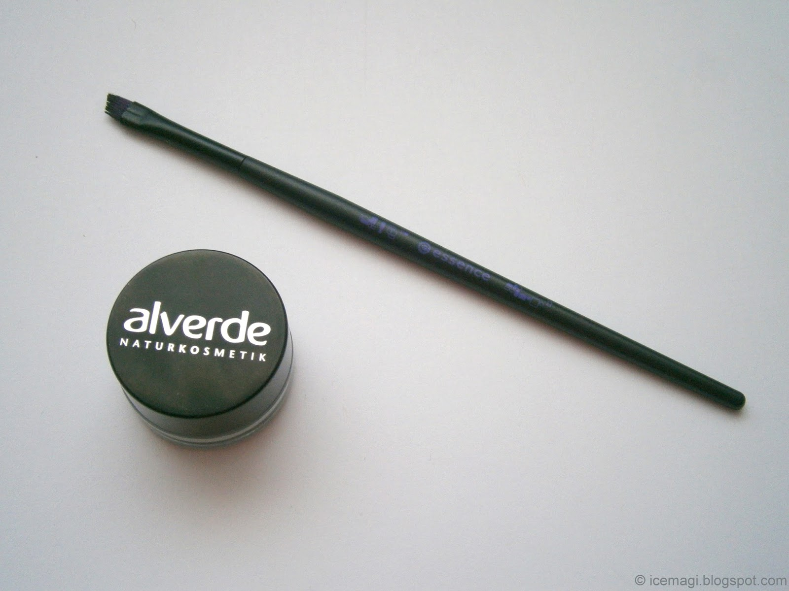 Review Alverde gel eyeliner