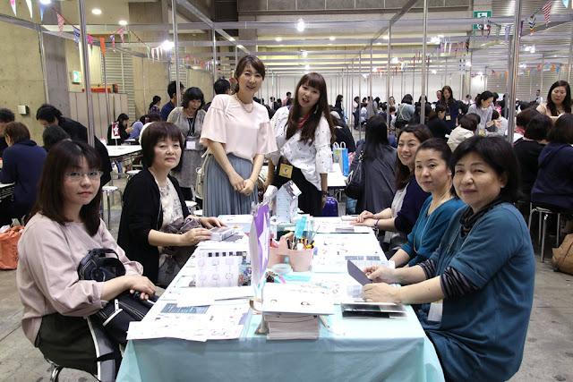 日本ホビーショー2017、初日!@土田れいこ先生×ペーパーインテリジェンスWSチーム