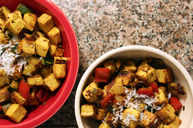 Vegan Richa South Indian Tofu Scramble