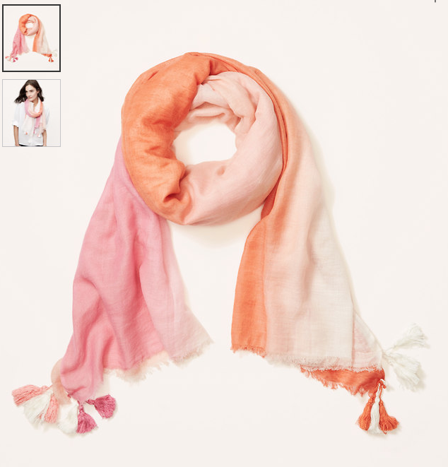 Weekend Steals & Deals |  Dip Dye Scarf