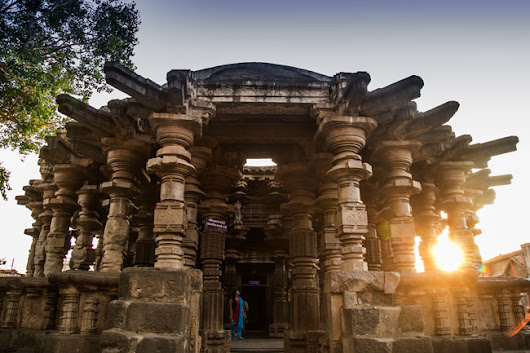 The stunning Kopeshwar temple at Khidrapur, Kolhapur