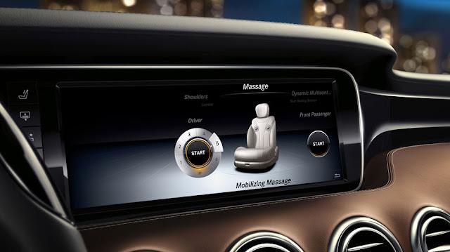 Mercedes S500 4MATIC Coupe sử dụng Màn hình màu TFT 12,3-Inch