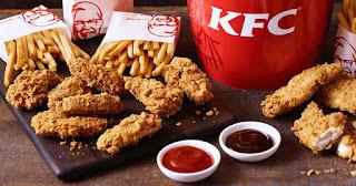 Harga Menu KFC Terbaru dan Terlengkap 2018