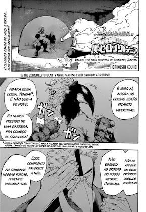 Mangá Boku No Hero Academia Capítulo 143