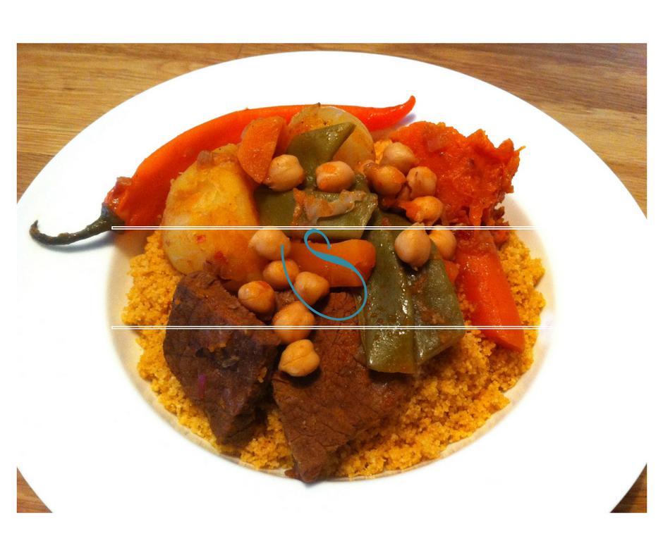 Traditional Tunisian Couscous - Couscous Tunisien Traditionnel