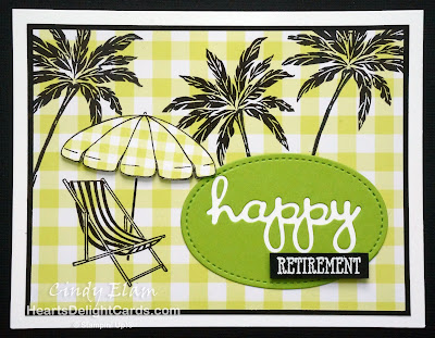 Heart's Delight Cards, Beach Happy, Retirement, Occasions 2019, Stampin' Up!