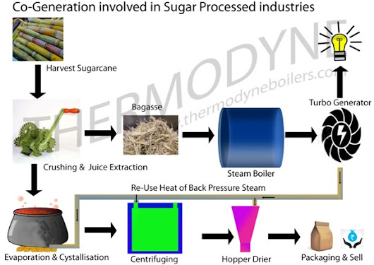 How to use Steam Boiler in Co-Generation System in Sugar Industries