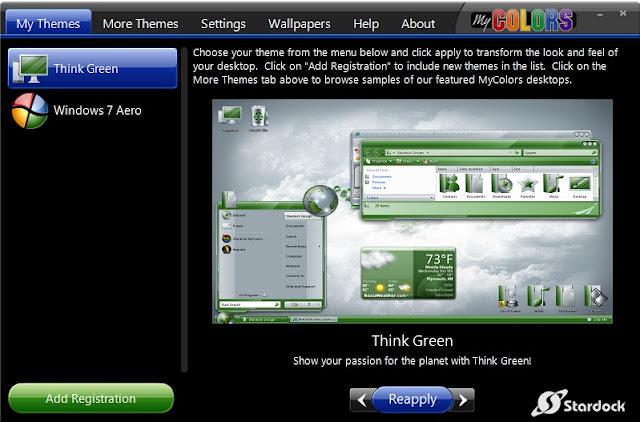 mengganti wallpaper dan thema pada windows 7 starter