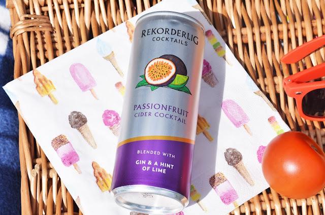 Rekorderlig Passionfruit Cider Cocktail