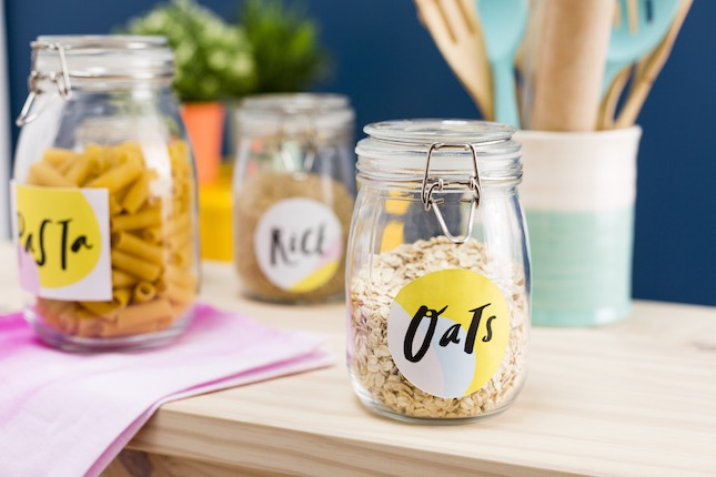 Download These Free Printable Jar Labels to Organize Your