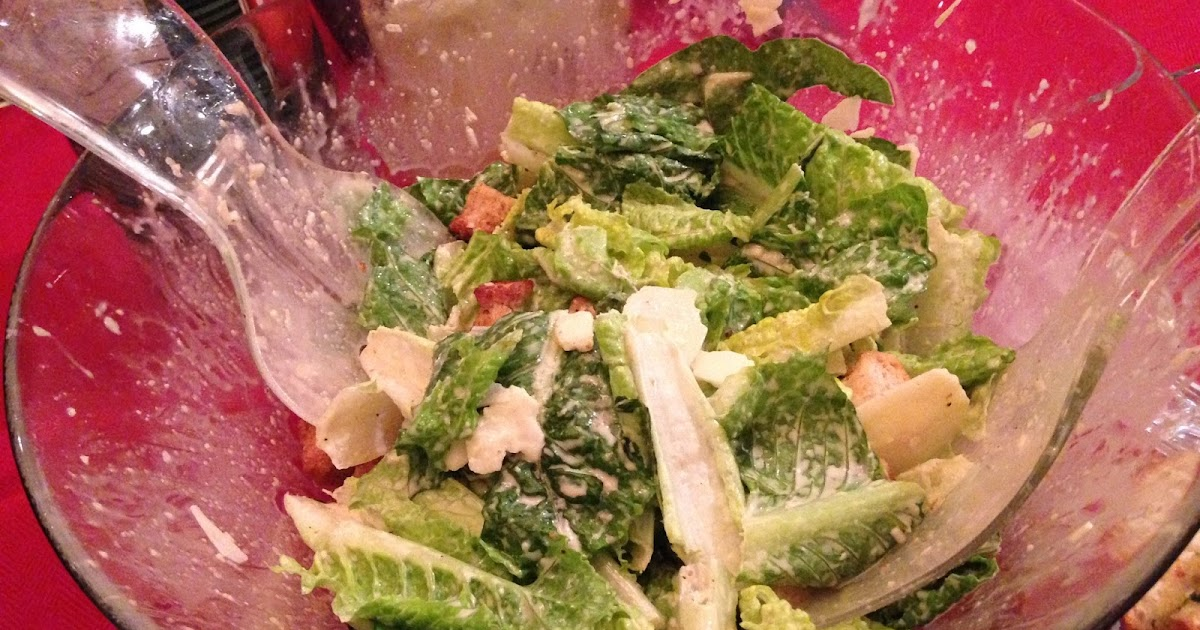Playing With My Food!: Caesar Salad