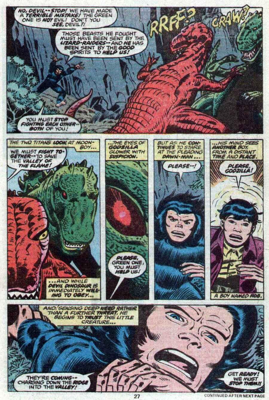 Godzilla (1977) Issue #21 #21 - English 17
