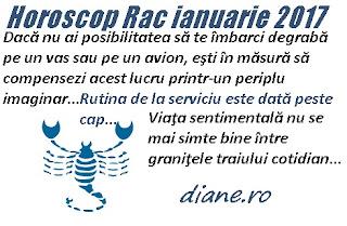 Horoscop ianuarie 2017 Rac