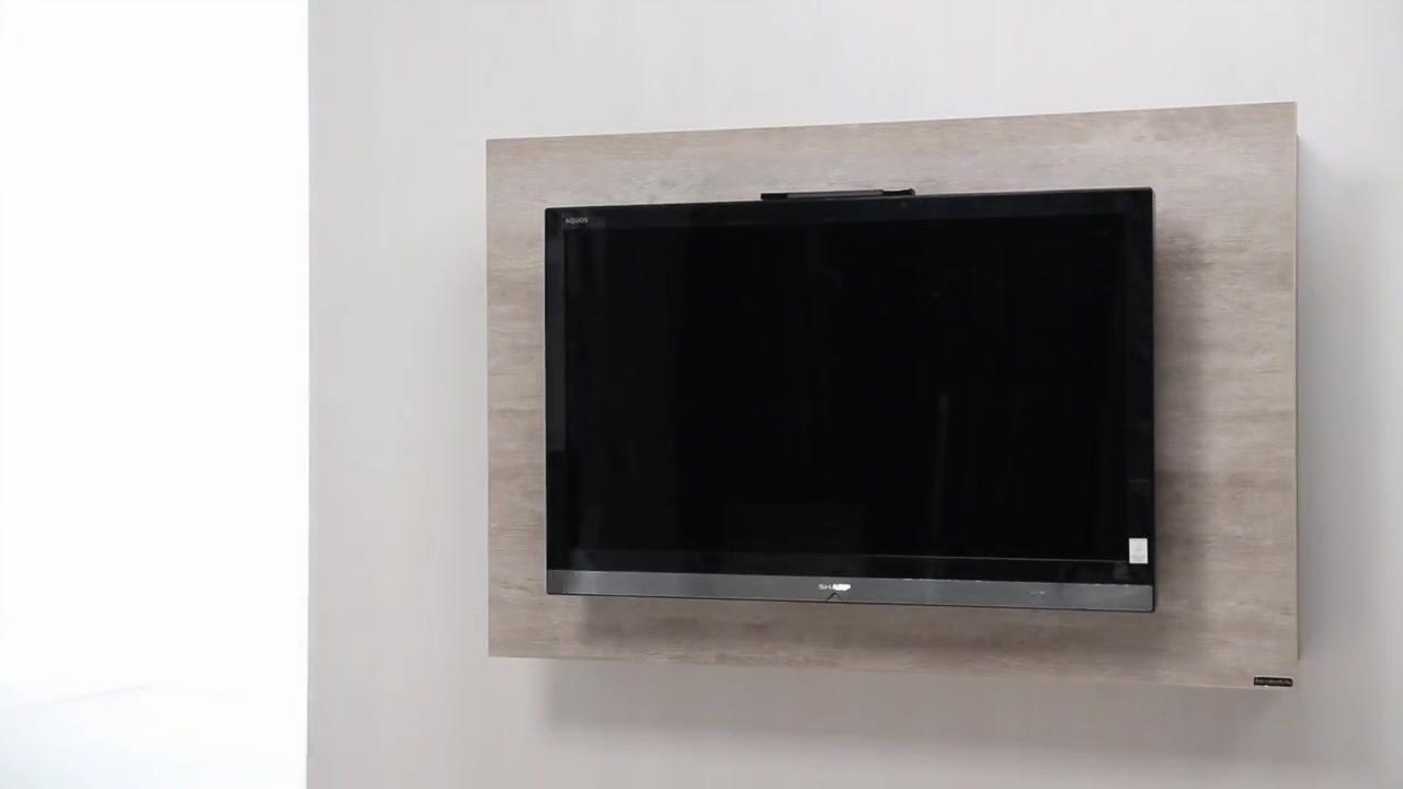 Dise o de muebles para tv giratorio de melamina web del - Muebles para televisores ...