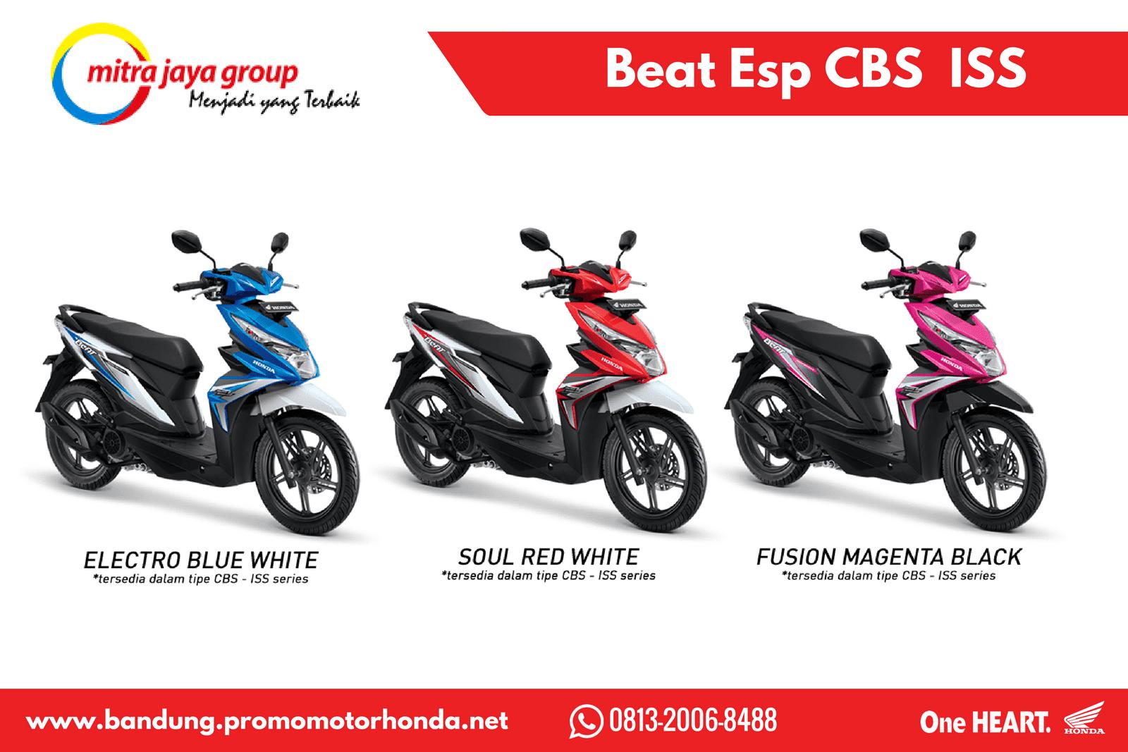 Honda Beat Esp Sporty Cbs Iss Terbaru Bandung