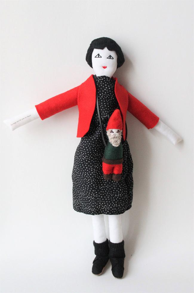 Amélie Poulain doll