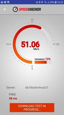 تحميل تطبيق Speed Checker لاختبار سرعة الانترنت
