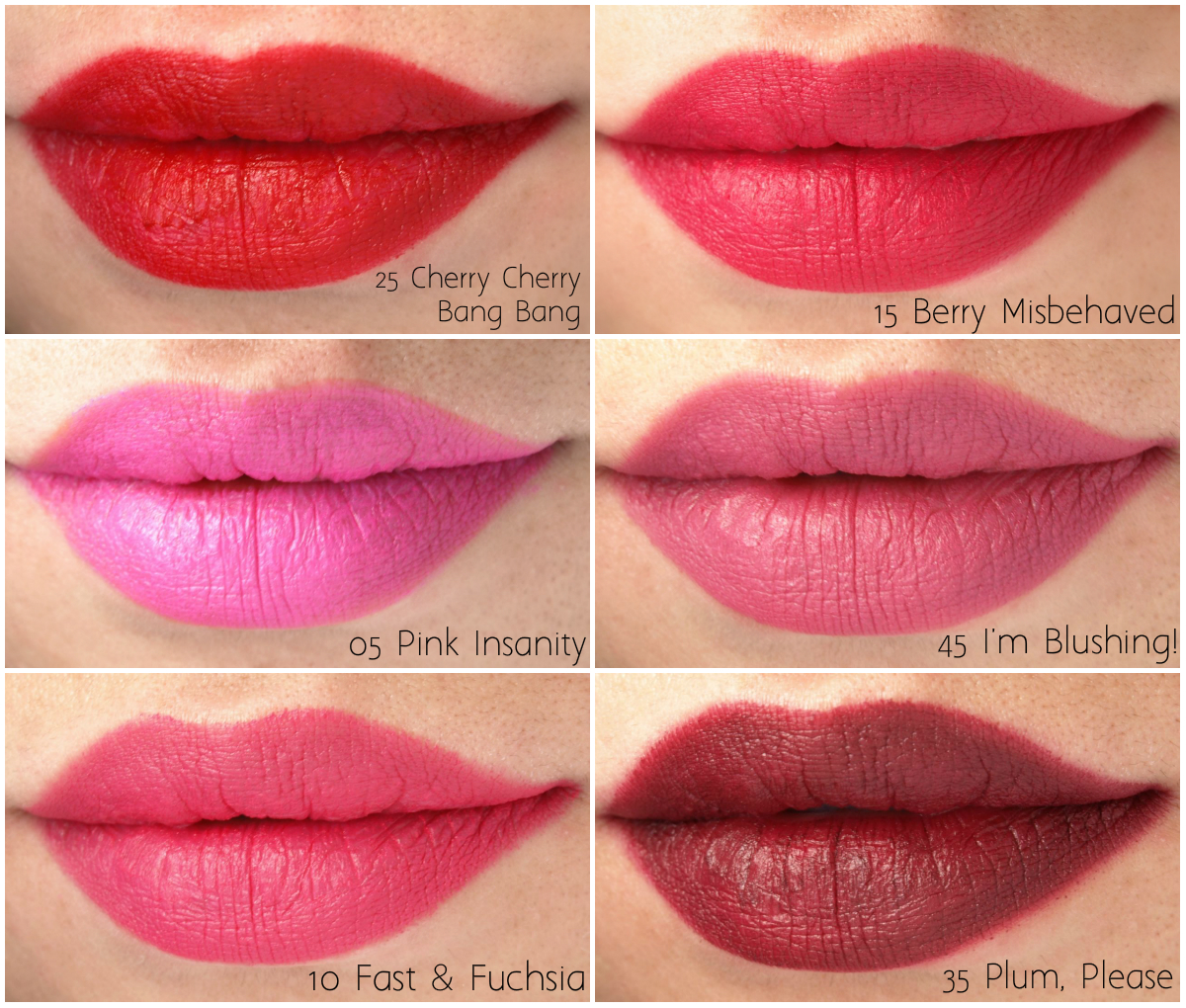 Maybelline Color Blur Matte Lip Pencil: Review and Swatches