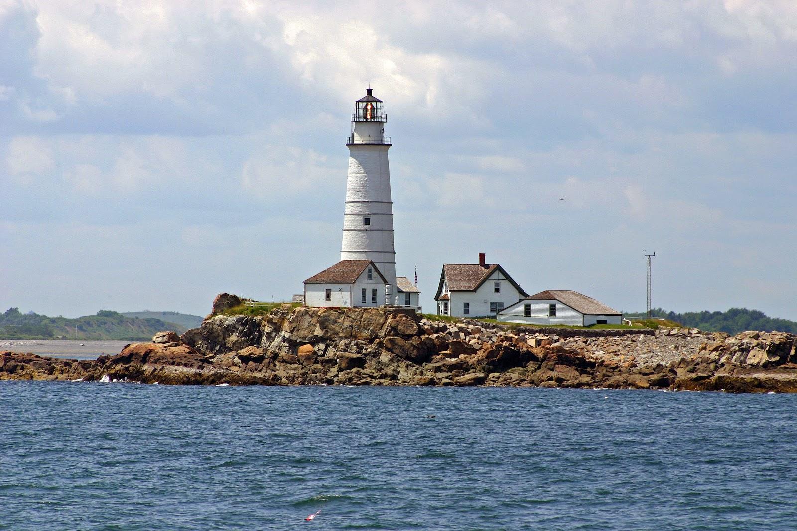 New England Lighthouses Boston Harbor Island Alliance and
