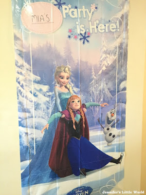 Frozen birthday poster