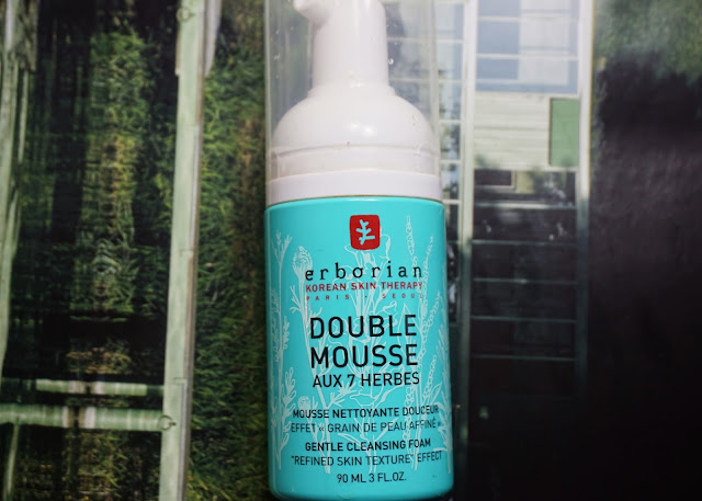 Erborian Double Mousse Aux 7 Herbs Gentle Cleansing Foam (bellanoirbeauty.com)