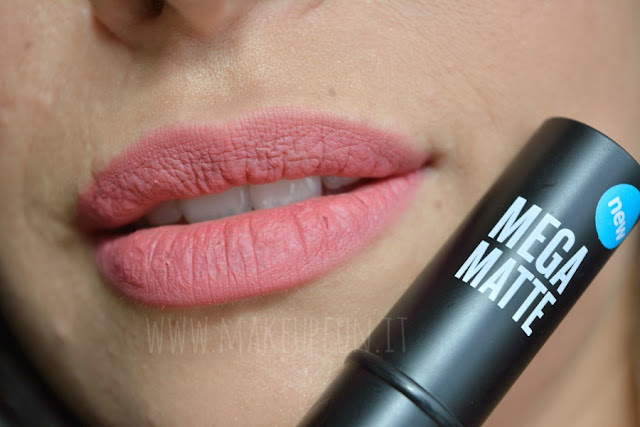 Seventeen Mega Matte Lipsticks Review + Swatches MakeUp Fun