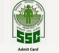 SSC Constable Call Letter Download 2015