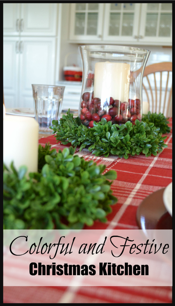 Colorful And Festive Christmas Table Calypso In The Country