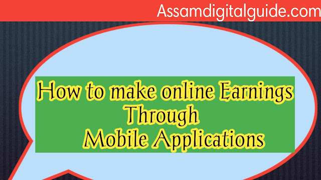 How to earn money online through mobile apps