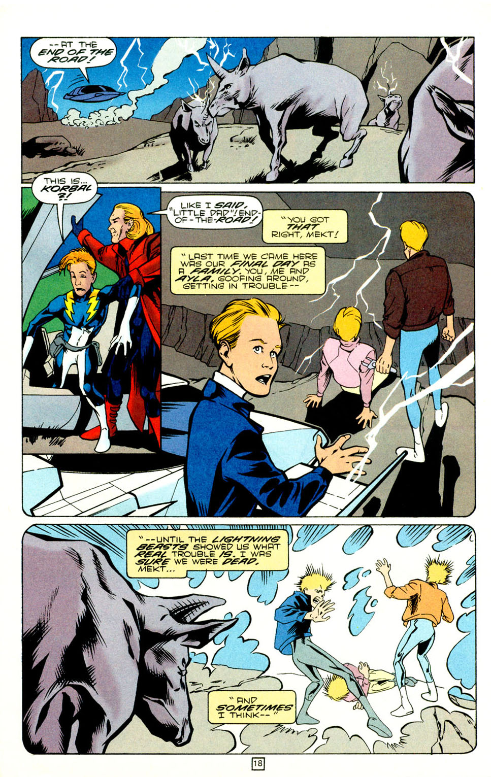 Legion of Super-Heroes (1989) 73 Page 18