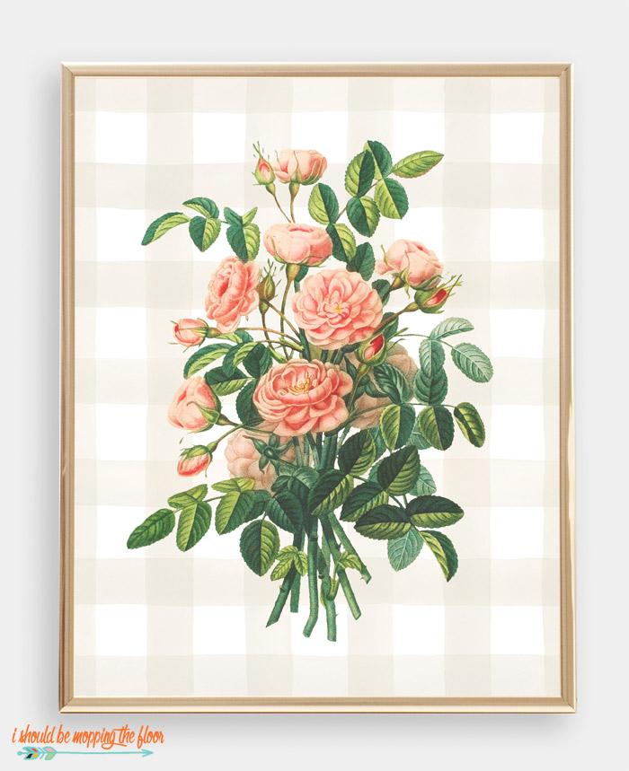 Mini Roses Art
