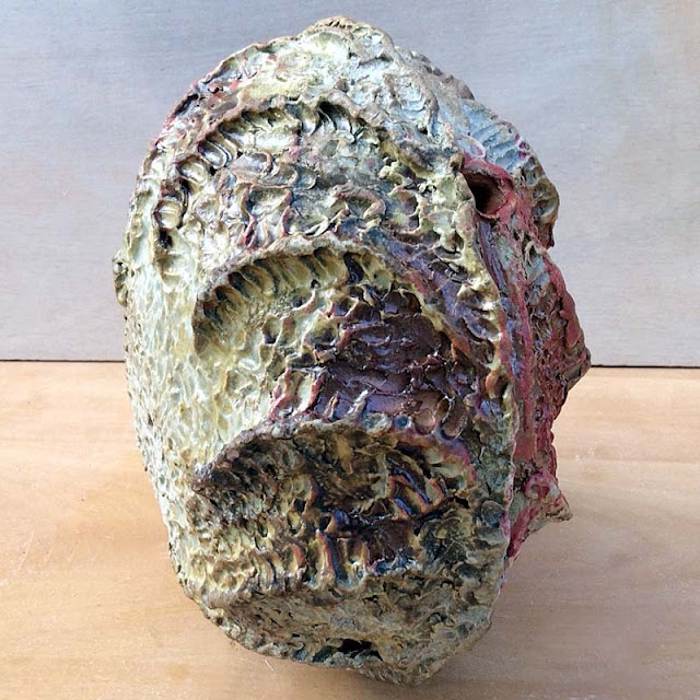 Contemporary ceramic sculpture