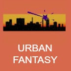 urban fantasy book icon