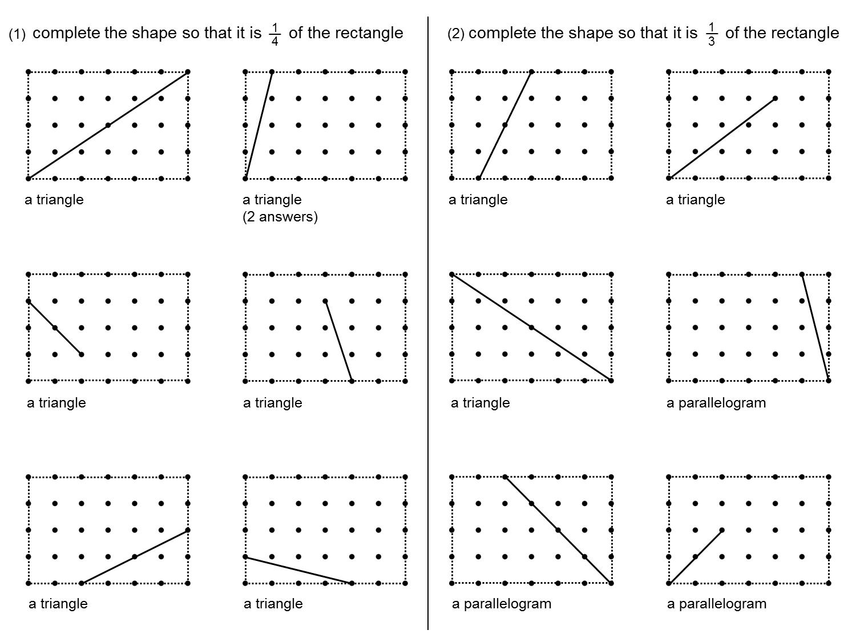 Median Don Steward Mathematics Teaching Fractions Of Rectangles